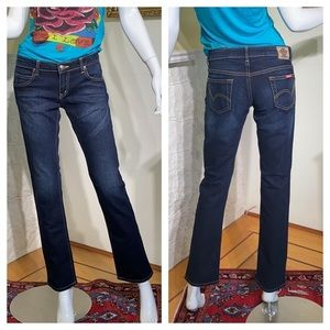 Dickie's Made in the USA Dark Denim Low Rise Jeans